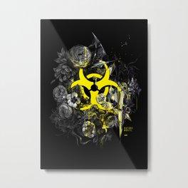 biohazard. still life. Metal Print