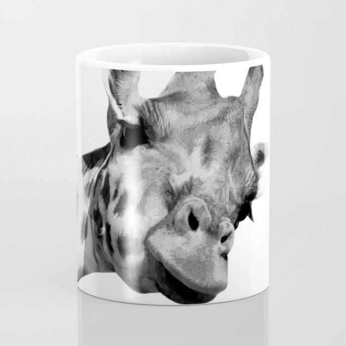 Black and white giraffe Coffee Mug