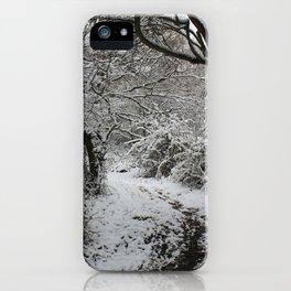 Landpark Wood iPhone Case
