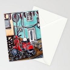 Vespa Street Stationery Cards
