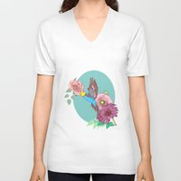 heaven V-neck T-shirts featuring Heaven by Primenos