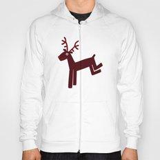 Reindeer-Red Hoody