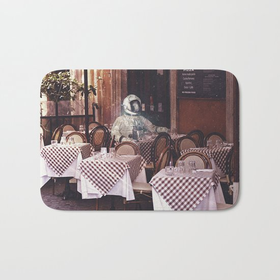 Dining Alone Bath Mat