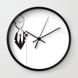 Strive Beyond Your Mind to a Timelessness Wall Clock
