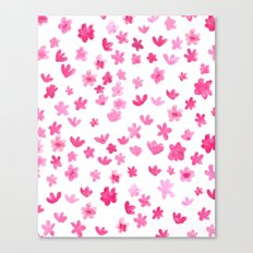 Pink Blooms Canvas Print