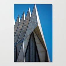 Air Force Church Canvas Print