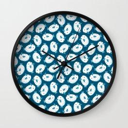 Sea Bunnies_Blue Wall Clock