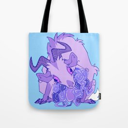 Gut Wretched Goat - Purple Tote Bag