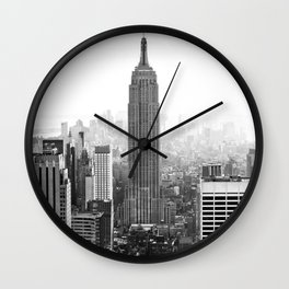 New York, Empire State Building Wall Clock