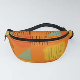 Flags 2 Fanny Pack