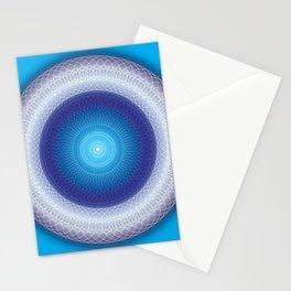 Light Mandala - מנדלה אור Stationery Cards