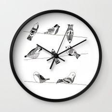 Polish birds Wall Clock