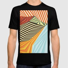 Yaipei Mens Fitted Tee Black SMALL