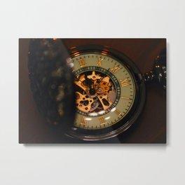 vintage clock_25 Metal Print