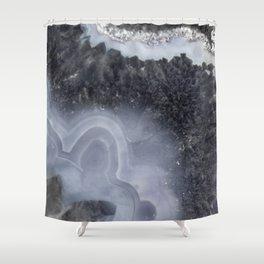 Winter Agate Shower Curtain