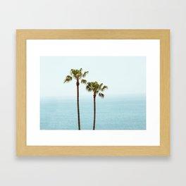 Morning in Laguna Beach Framed Art Print