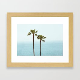 Morning in Laguna Beach Framed Art Print