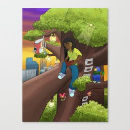 Magic Tree Canvas Print