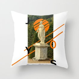 Joys Throw Pillow