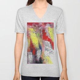 Multicolor Unisex V-Neck