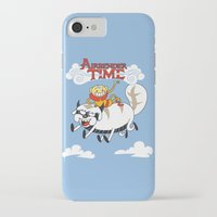 airbender iPhone & iPod Cases featuring Airbender Time by Kari Fry
