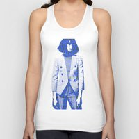 suit Tank Tops featuring Suit by fashionistheonlycure