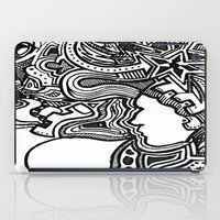 techno iPad Cases featuring Techno by Madison R. Leavelle