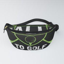 Golf Golf Ball Fanny Pack