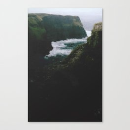 Analogue Cliffs Canvas Print
