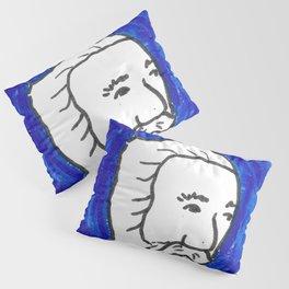 The Blue Man Pillow Sham