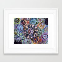 rave Framed Art Prints featuring Rave by artworkbyemilie