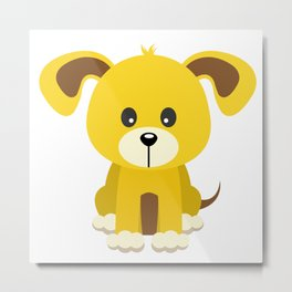 Puppy Metal Print