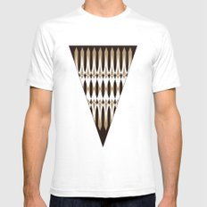 Atomic Spears White SMALL Mens Fitted Tee
