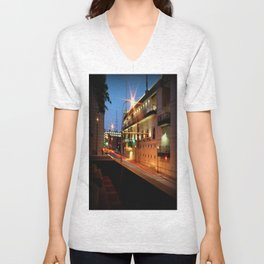 Ball Park Road Unisex V-Neck