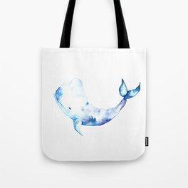 Blue Whale by Julesofthesea Tote Bag