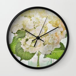 Whitish Wall Clock