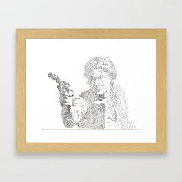 Pointalism Han  Framed Art Print