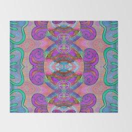 Pineal Art Flourish 1 Throw Blanket