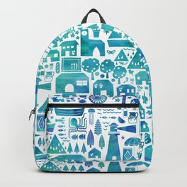 in the Spanish South coast Backpack