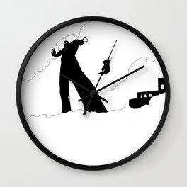 Fall of Jericho Wall Clock