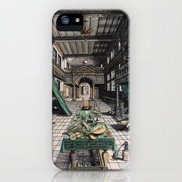 Alchemist's laboratory iPhone Case