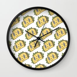 Taco Buddy Wall Clock