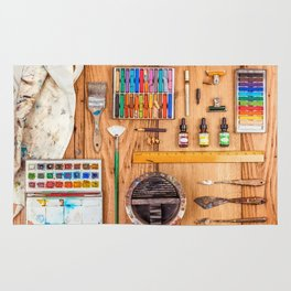 The Artist's Tools Rug