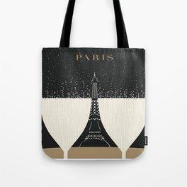 Vintage poster - Paris Tote Bag