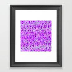Snowflower Framed Art Print