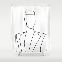 Jones Shower Curtain