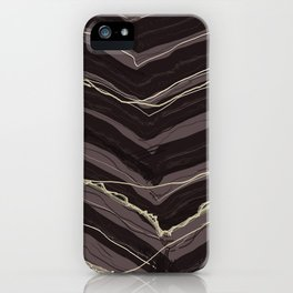 Burnout At Chevron iPhone Case