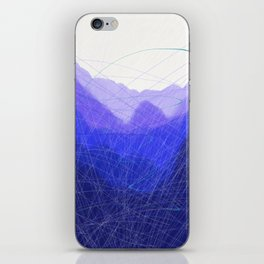 Blue Remembered Hills iPhone Skin