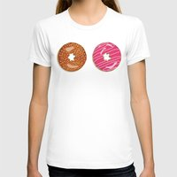 donuts T-shirts featuring Donuts by Malin Erixon
