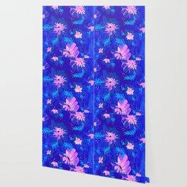 Blue Anna May Wallpaper